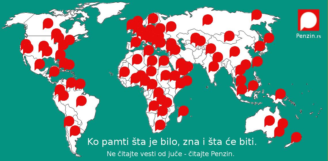 mapa sveta drzave Koliko države sveta prave novca po stanovniku, a koliko Srbija  mapa sveta drzave
