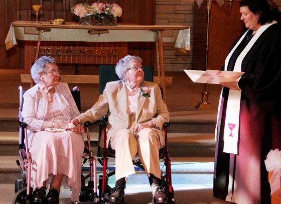 90 godina i venčanje nakon 72 godine tajne veze