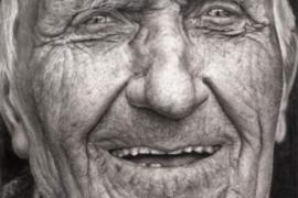 Koleman, stari Irac – Portret olovkom