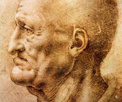 Portret starca, Leonardo da Vinči