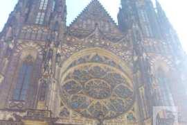 Rozeta katedrale Svetog Vida na Hradčanima