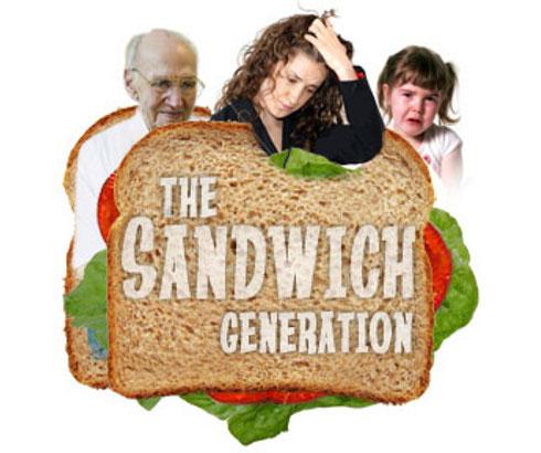 Sendvič generacija – Između dve ili tri vatre