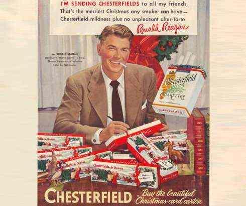 Reklama za cigarete američkog predsednika