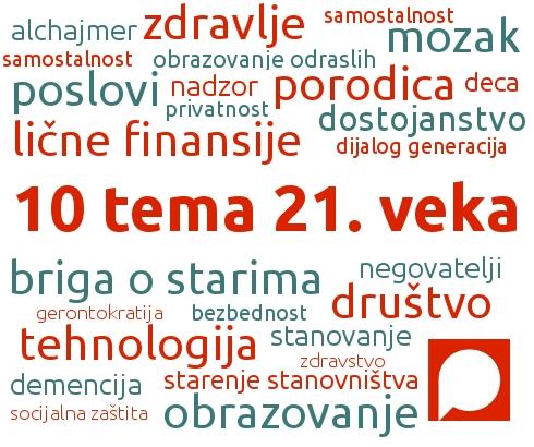 Međunarodni dan starih 2014 – 10 pitanja za 21. vek