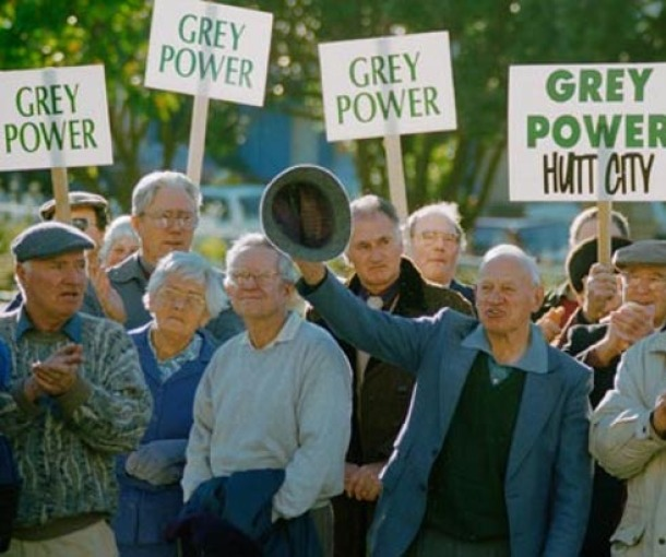 Organizacija Moć sedih sa Novog Zelanda