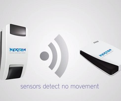 Sistem bežičnih senzora za nadzor domova starih