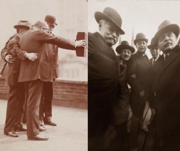 Selfie od pre sto godina