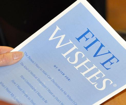 Testament za slučaj teške bolesti: Pet želja