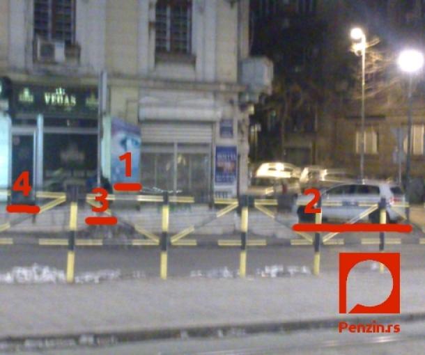 Vetar u Beogradu: Na Slaviji drama bez epiloga