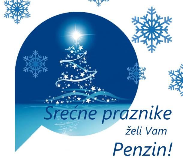 Srećne praznike želi vam Penzin!