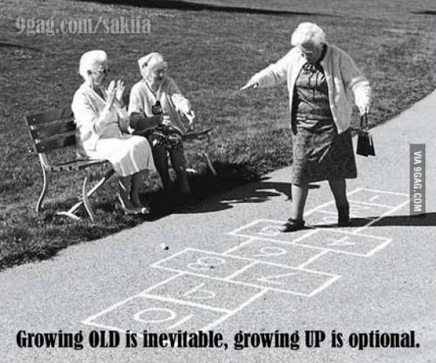Ostari ali ne odrasti