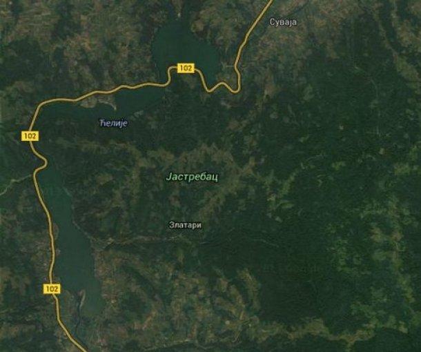 Jezero Ćelije na Jastrepcu