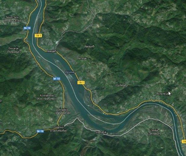 Zvorničko jezero na Drini