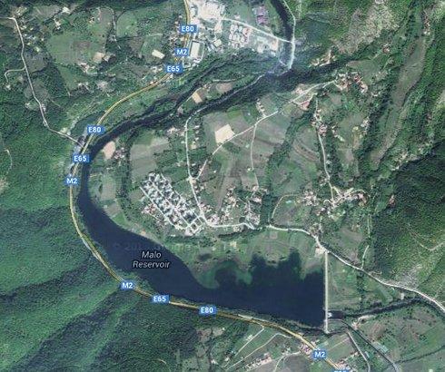 Jezero Gazivode na Ibru