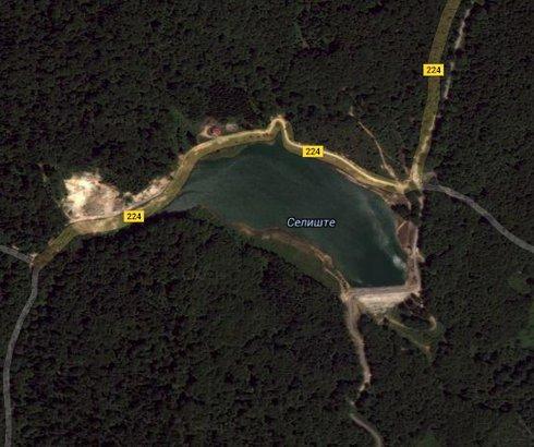 Jezero Selište kod Vrnjačke Banje