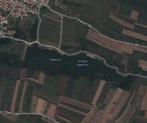 Jezero Pariguz u Resniku