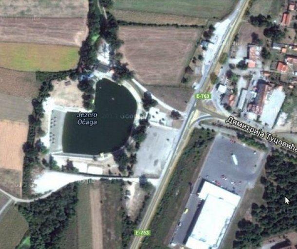 Jezero Očaga kod Lazarevca