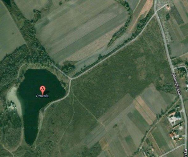Jezero Provala kod Bođana