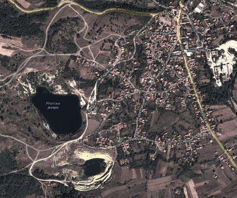Rgotsko jezero u Istočnoj Srbiji