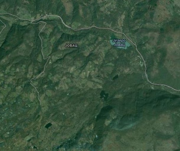 Jovačko jezero kod Vladičinog Hana