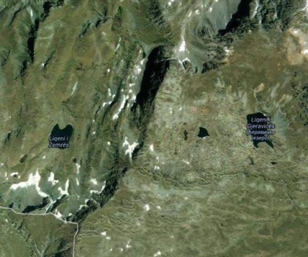 Đeravičko jezero na Prokletijama