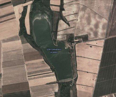 Šatrinačko jezero Međeš u Sremu
