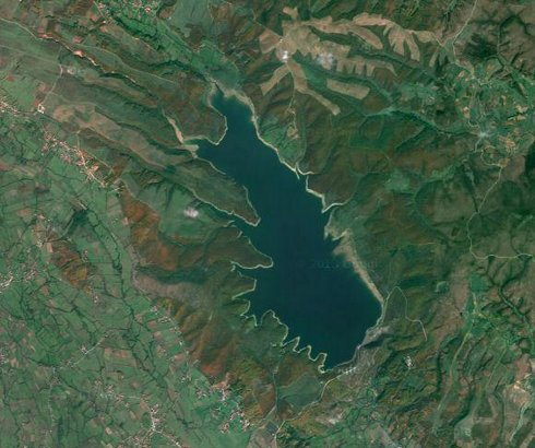 Radonjićko jezero kod Đakovice