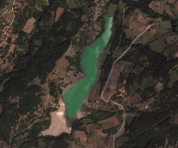 Jezero kod Novog Sela pod Kopaonikom