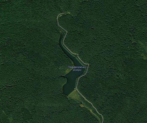 Pridvoričko jezero na Jastrepcu