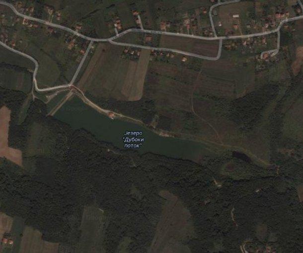Jezero Duboki Potok u Ripnju