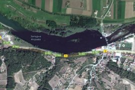 Jezero Parmenac na Zapadnoj Moravi