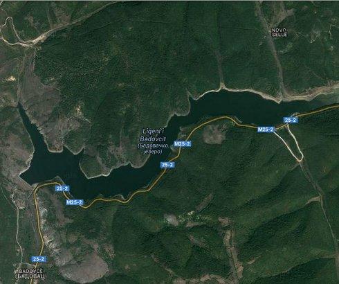 Gračaničko ili Badovačko jezero kod Gračanice