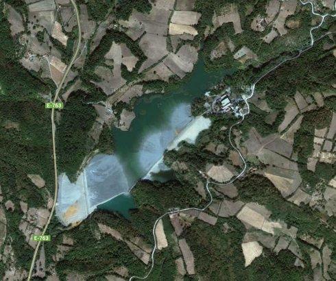 Flotacijsko jezero na Rudniku