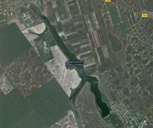 Jezero Krivaja kod Bačke Topole