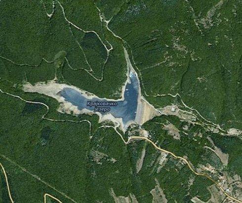Krajkovačko jezero na Malom Jastrepcu