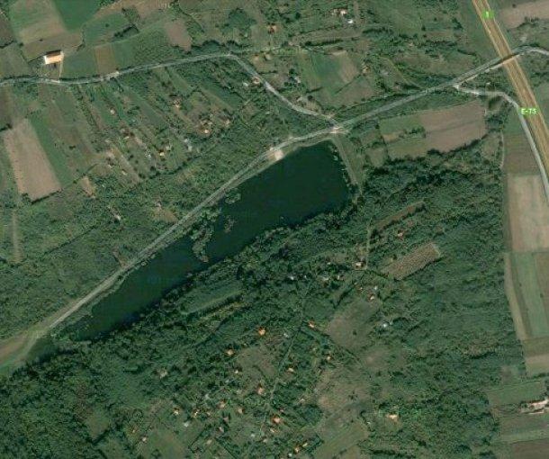 Miloševačko jezero kod Velike Plane