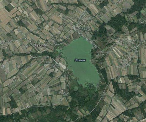 Jezero Paljuvi kod Uba