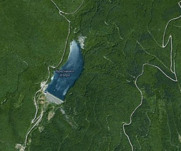 Bresničko jezero na Jastrepcu
