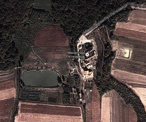 Ribnjak manastira Petkovica na Fruškoj Gori