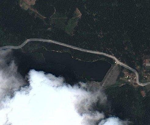 Jezero Bela Reka kod Ripnja