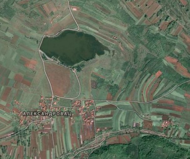 Aleksandrovačko jezero kod Vranja