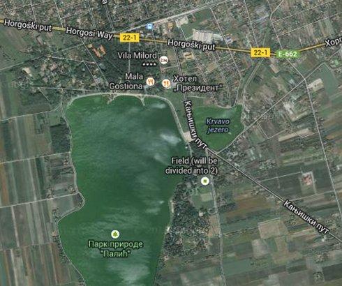 Krvavo jezero na Paliću