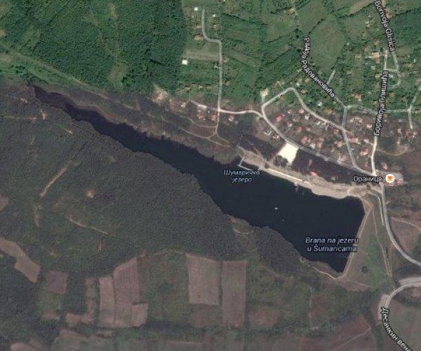 Šumaričko jezero kod Kragujevca