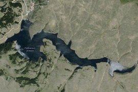 Ribničko jezero na reci Uvac