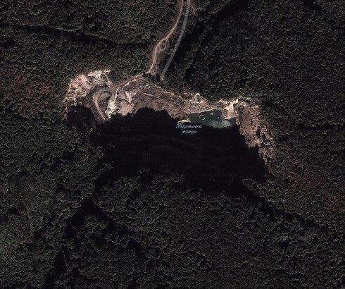 Ledinačko jezero na Fruškoj Gori