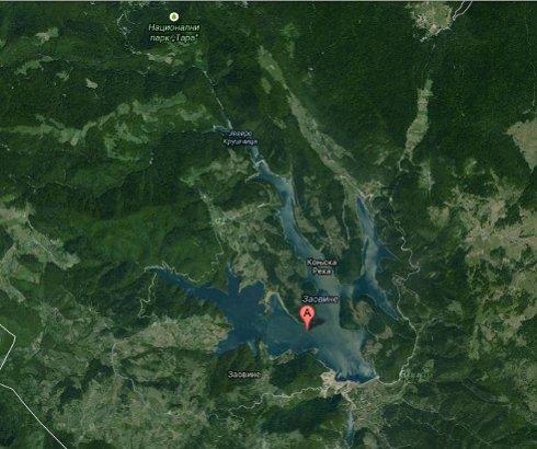 Jezero Zaovine na Tari