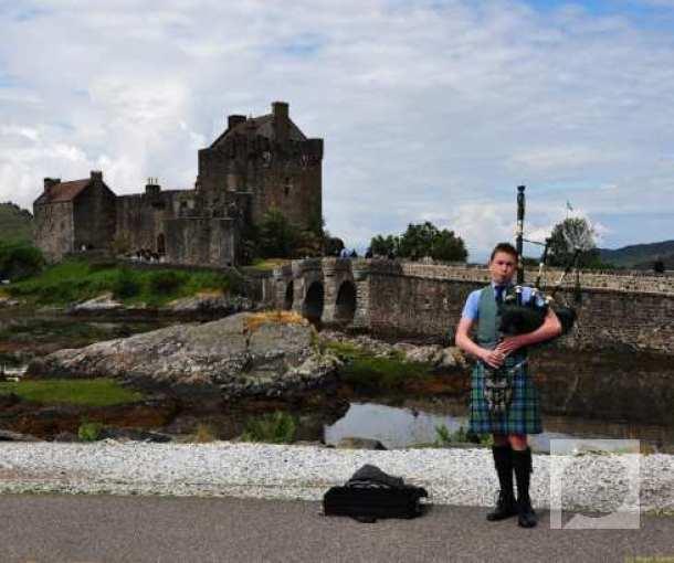 Romantični zamak Ejlan Donan, Škotska