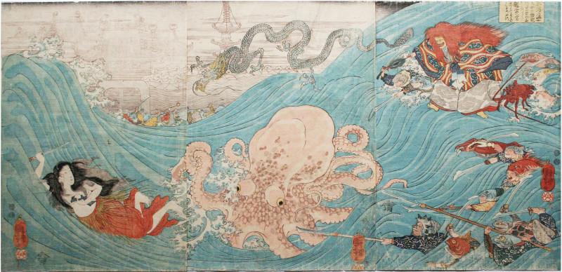 ama-tako-kuniyoshi-japan