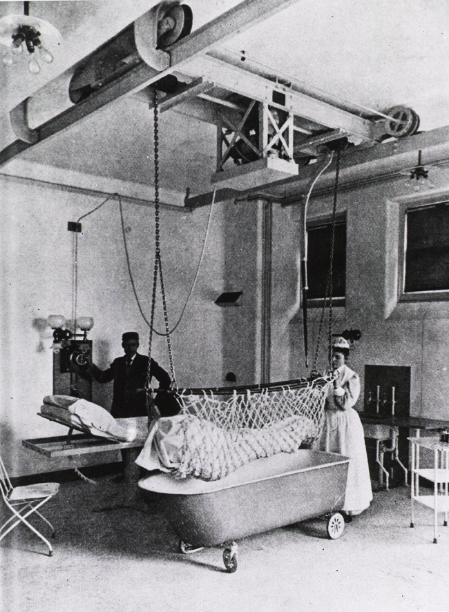 kupanje pacijenta bolnica med sestra