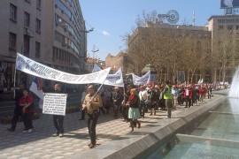 Razglednica sa protesta penzionera (foto galerija)